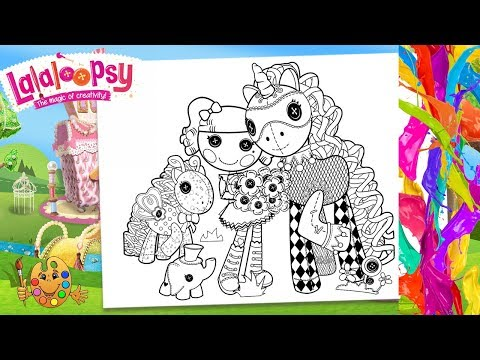 Lalaloopsy : Peanut Big Top, Elephant and pony Checkers | Coloring ...