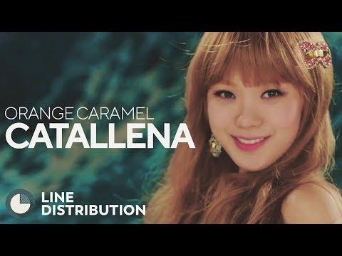ORANGE CARAMEL - Catallena (Line Distribution)