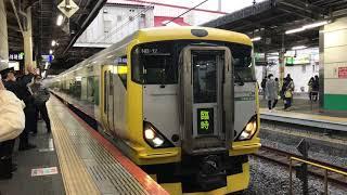 【E257系500番台】成田山初詣ぐんま号 柏発車