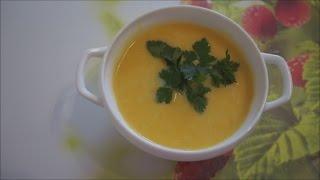 Кухонный влог: РЕЦЕПТ тыквенного супа-пюре для детей и не только-)))