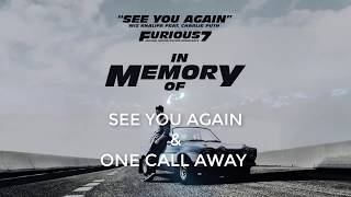 "Video [Lyrics + Vietsub] ""See you again & one call away"" - Charlie Puth Cover By J.Fla download MP3, 3GP, MP4, WEBM, AVI, FLV Maret 2018"