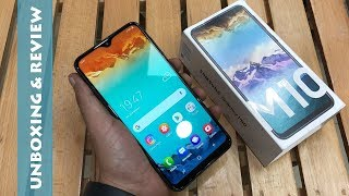 SAMSUNG GALAXY M10 UNBOXING AND REVIEW