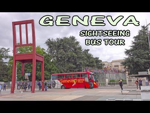 GENEVA - SIGHTSEEING BUS TOUR 4K
