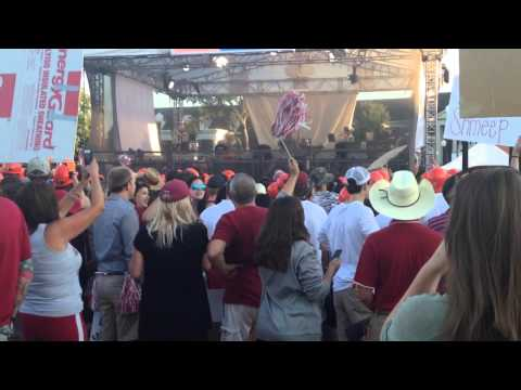 Dixieland Delight at College GameDay 2015
