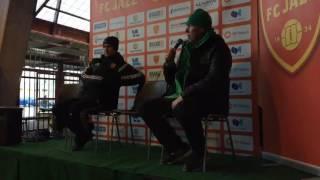 FC Jazz - KPV ottelun jälkeinen lehdistötilaisuus