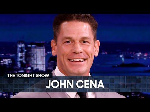 John Cena Accuses Tom Brady of Stalking Him | The Tonight Show Starring Jimmy Fallon