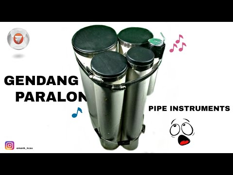 How to make PVC pipe percussion