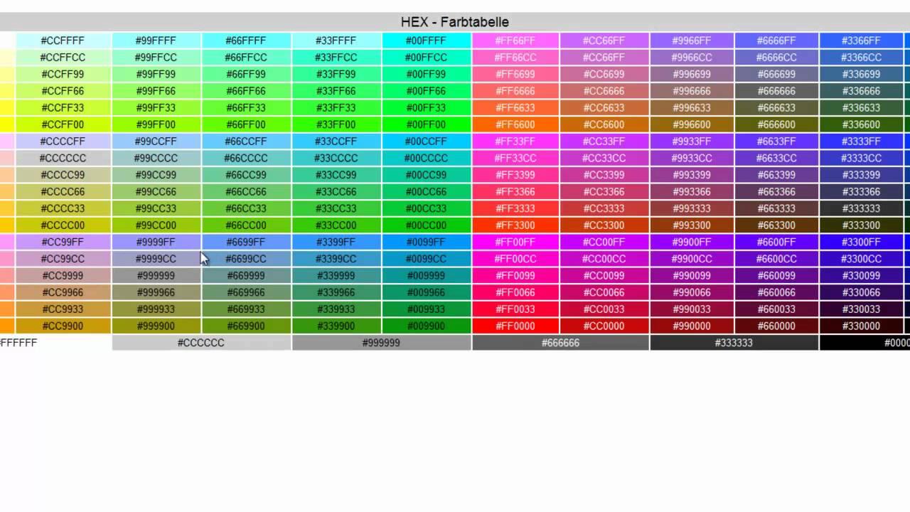 Andere Kanaldesignfarben! - YouTube