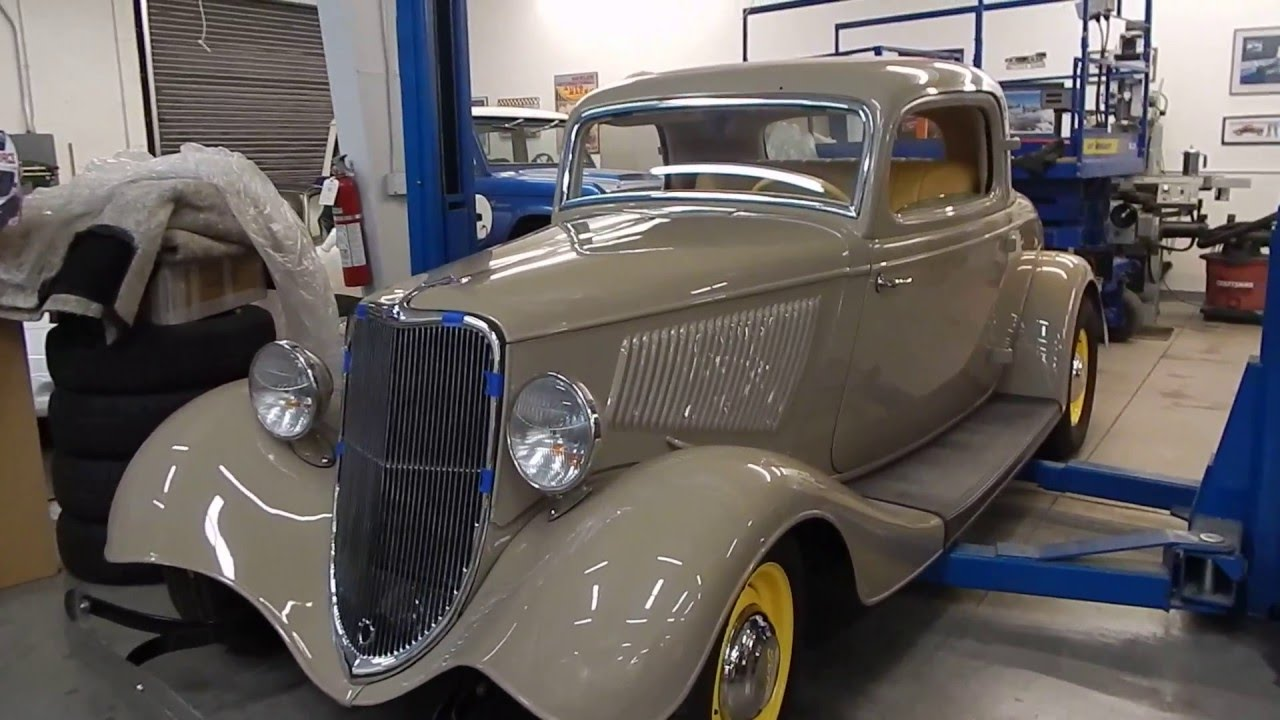 1933 Ford 3 Window Coupe Henry Steel FlatHead V8