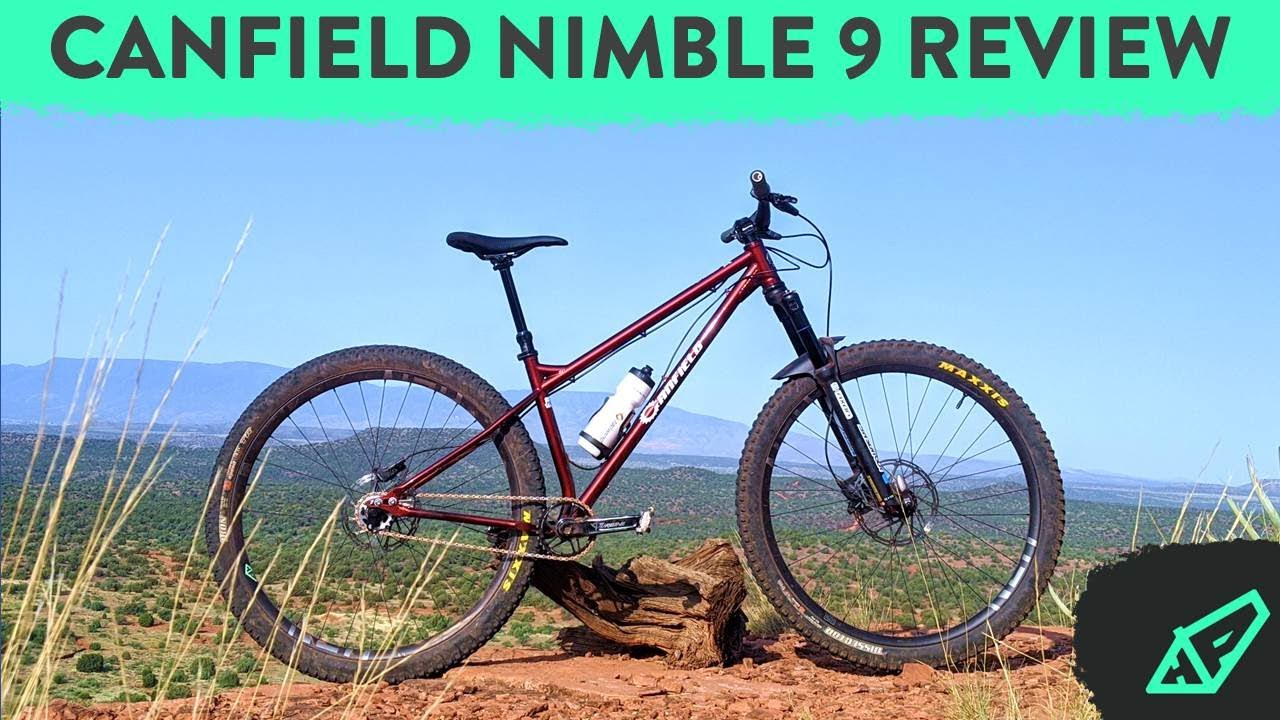 REVIEW: The Canfield Nimble 9 Steel Hardtail - Gen V (2020)