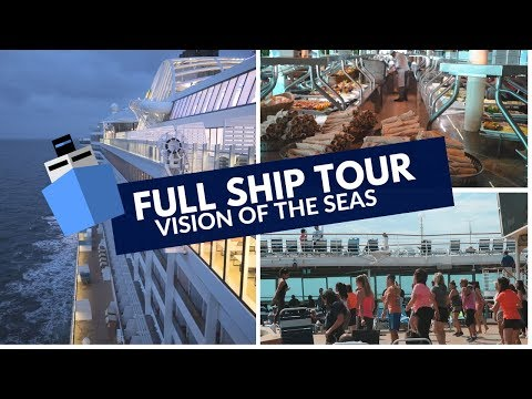 Watch THIS before you go on Vision of the Seas | Royal Carib