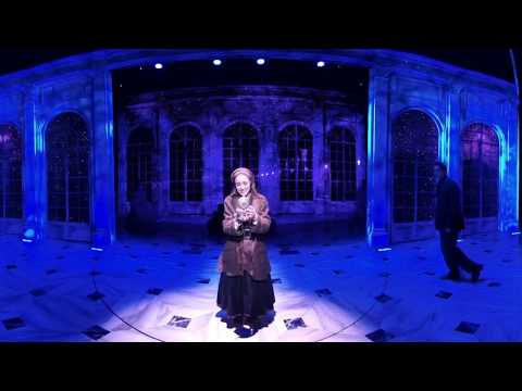 "360 Video: On-Stage at Broadway's ""Anastasia"""