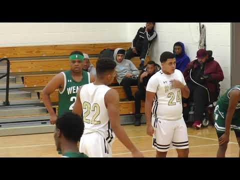 Waterbury Career Academy High School vs Weaver High School - Jan 2, 2019