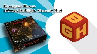 BGH Unboxing 40: Darklight: Memento Mori