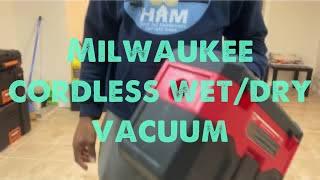 Milwaukee M18 18-Volt 2 Gal. Lithium-Ion Cordless Wet/Dry Vacuum