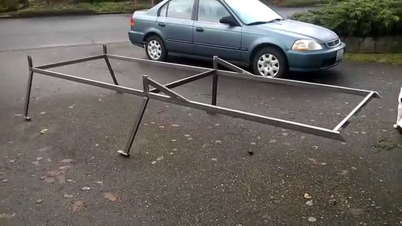 My Custom Toyota Truck Lumber Rack - YouTube