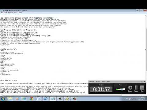HTML Video - Eric Badgley