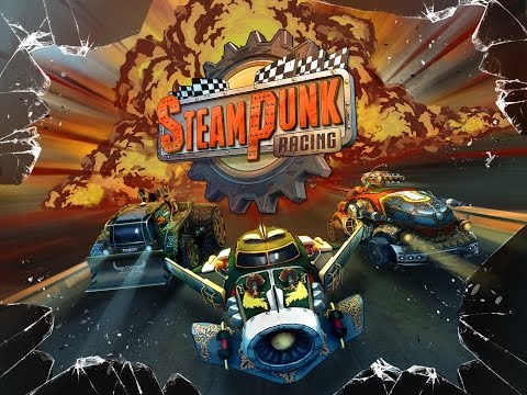 Steampunk Racing Game Trailer