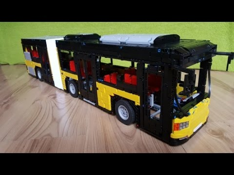 autobus przegubowy lego technic youtube. Black Bedroom Furniture Sets. Home Design Ideas