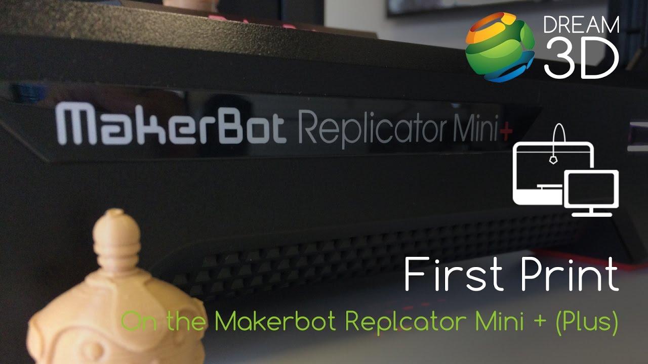 video MakerBot Replicator Mini+ 3D Printer