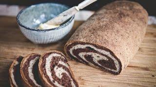 Gluten Free Marble Rye Bread | Baking Magique