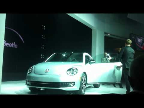 2012 VW Beetle, and Designer Walter de Silva