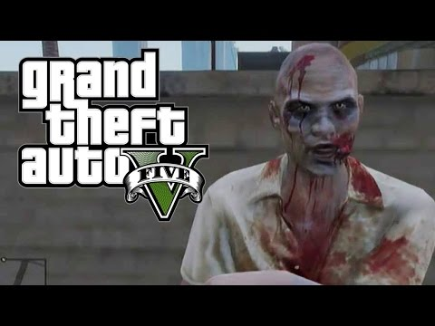GTA 5 - Khám Phá Bí Ẩn Vùng Đất Thây ma  ( Island Zombie )