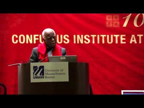 Speeches at University of Massachusetts Boston Confucius Institute 10th Anniversary