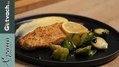 Бяла риба на фурна и сос Холандез