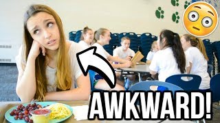 Awkward Situations in the School Lunchroom!