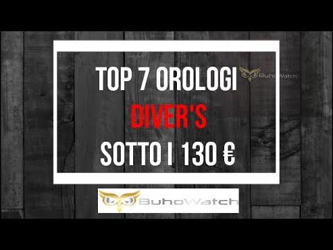 TOP 7 DIVER'S 200 MT SOTTO I 130 € - Orologi subacquei super economici