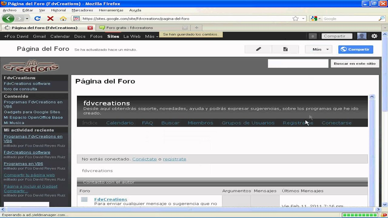 Foros: a selection of sites