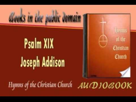 Psalm XIX Joseph Addison Audiobook