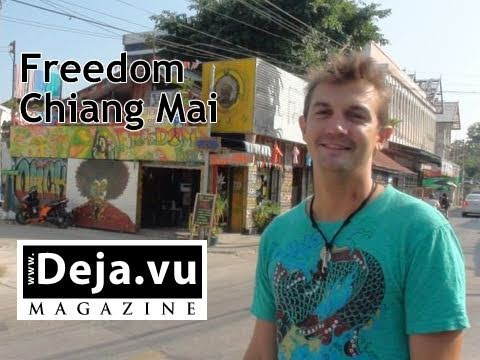 Chiang Mai tourist city guide with Freedom Bar