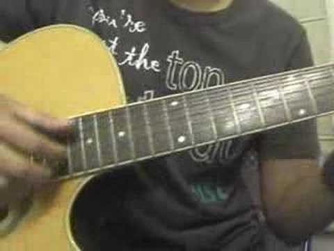 Big Girl Don\'t Cry by Fergie - Guitar Chords Part 1 - YouTube