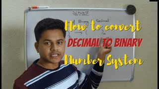 Coding Andamp Fun  How To Convert Decimal To Binary Number System  Decimaltobinary