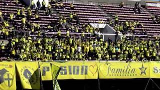 ジェフ千葉'11 vs清水@アウスタ 太田圭輔チャント JEF United Chiba fans 17,Dec,2011