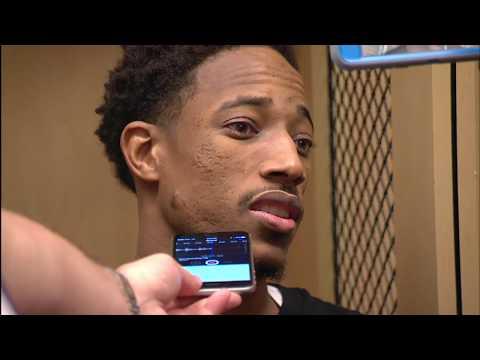 Raptors Post-Game: DeMar DeRozan - November 14, 2017