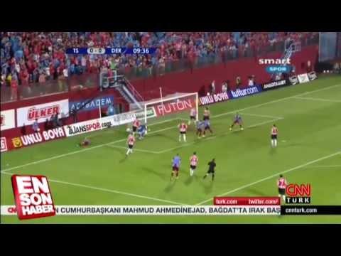 Trabzonspor 4 - 2 Derry City.. (-Maçın Özeti-) 18.07.2013