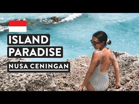 CRAZY BLUE LAGOON & SKETCHY BRIDGE   Nusa Ceningan Bali   Indonesia Travel Vlog