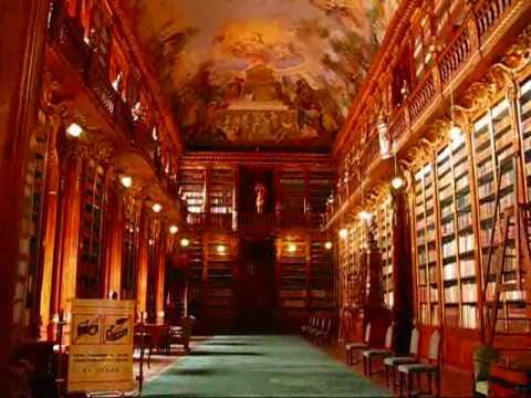 Prague Travel: Magnificent Baroque Libary @ Strahov Monastery