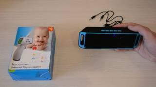 Bluetooth колонка и говорящий термометр - обзор товаров с Aliexpress