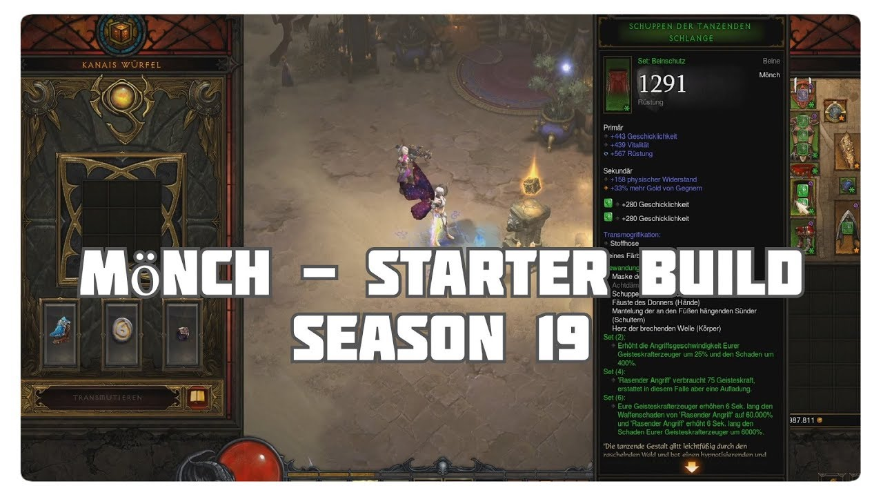 Diablo 3 Mönch Build
