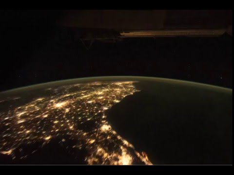 Iss Mexico and the Eastern United States -Mexico USA
