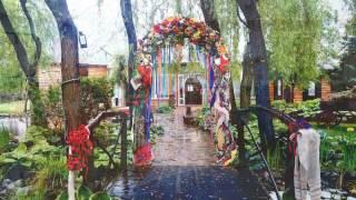 свадьба с украинскими мотивами