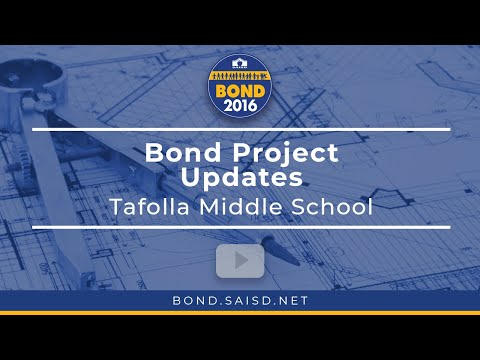 Tafolla Middle School Bond Construction Update