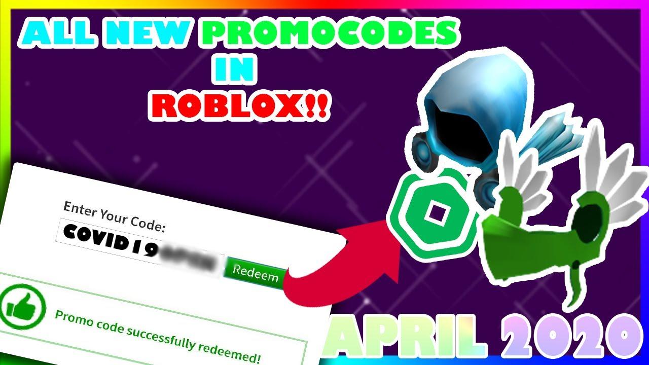 Youtube Roblox Promo Codes 2020 April