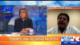 """""""Existe un sector de la población boliviana que puede ser fácilmente desinformada"""": Jerjes Atalá"""