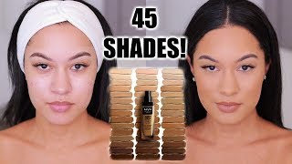 NEW DRUGSTORE MATTE FULL COVERAGE FOUNDATION! NYX Can't Stop Won't Stop Foundation Review