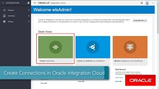 Create Connections in Oracle Integration Cloud